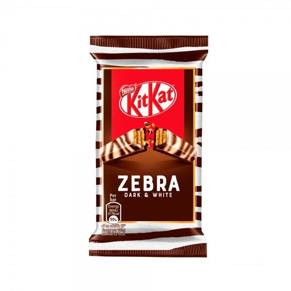 KIT KAT 4 FINGER ZEBRA 538257-V001 by Nestle