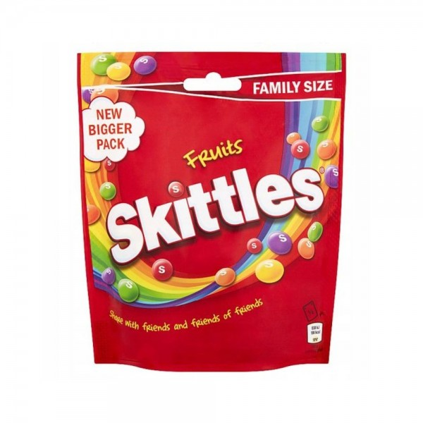 Skittles Fruits Pouch 196g 538265-V001 by Mars