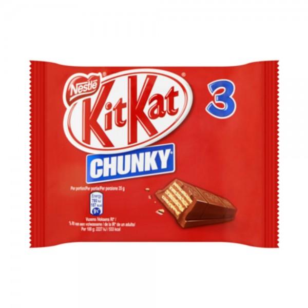 Kitkat Multipack Chunky 3x32G 538321-V001 by Nestle