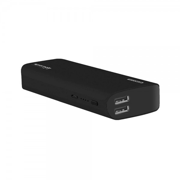 POWER BANK ALUMINIUM DUAL USB PORTS+FREE CABLE 538903-V001 by Promate