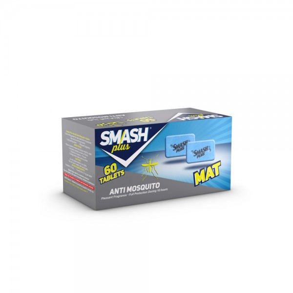 Smash Plus Anti Mosquito 60pc 540104-V001 by Smash