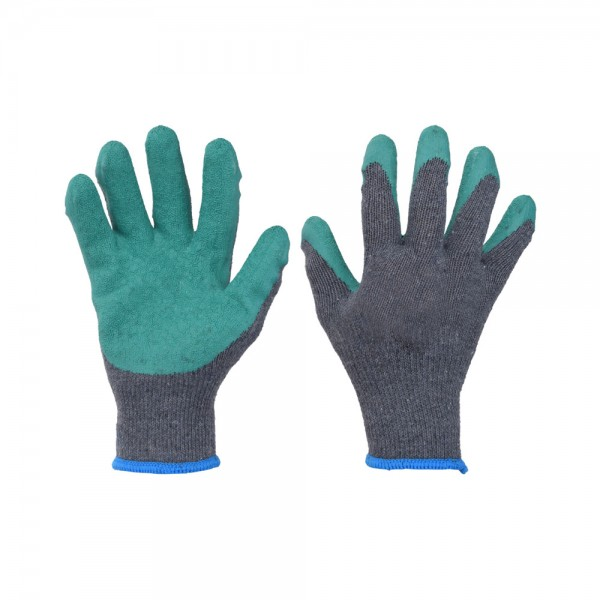 WORKING GLOVE LATEX COTTON 540228-V001 by EH Excellent Houseware
