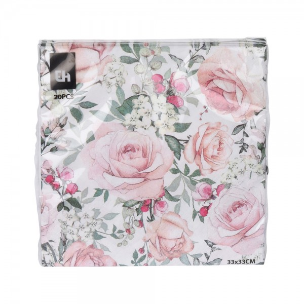 NAPKINS 20 SHEETS MIXED 540270-V001 by EH Excellent Houseware
