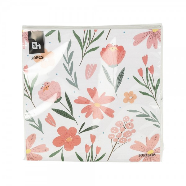 NAPKINS 20 SHEETS MIXED 540272-V001 by EH Excellent Houseware
