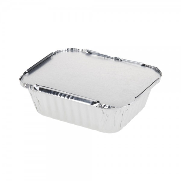 ALUMINIUM TRAY WITH LID 540318-V001 by EH Excellent Houseware