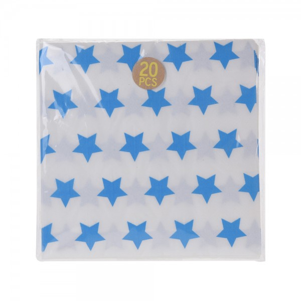 NAPKINS  20 SHEETS MIXED COLORS 540329-V001 by EH Excellent Houseware