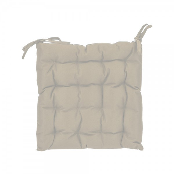 CHAIR PAD SAND 40X40X6CM 540447-V001 by EH Excellent Houseware