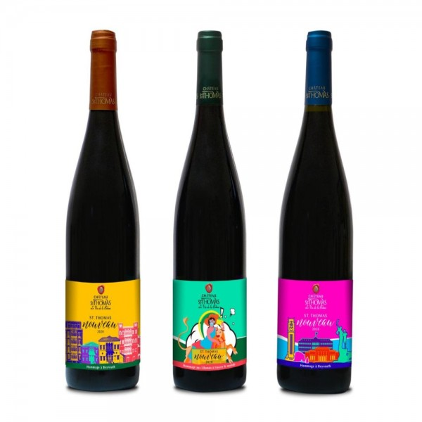 St Thomas Nouveau Limited Edition Wine 3 Colors selection 540479-V001 by ST. Thomas