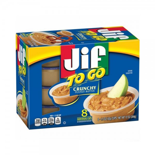 TO GO NATURAL CRUNCHY PEANUT BUTTER SPREAD 540490-V001 by Jif