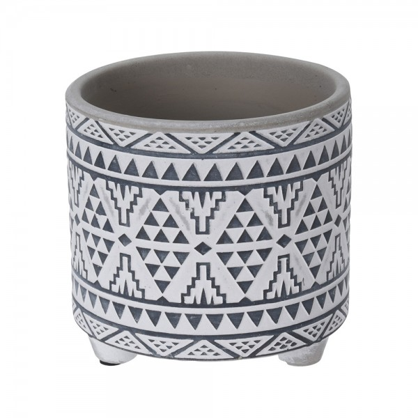 FLOWER POT CERAMIC MIXED DESIGN 540524-V001 by Pro Garden Collection