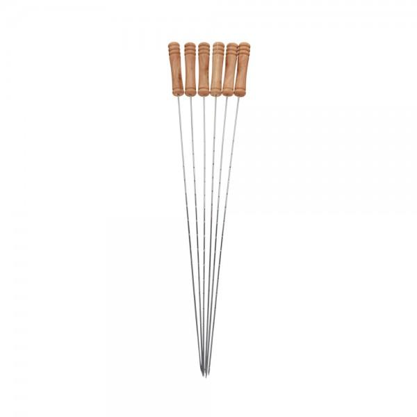 METAL SKEWER SET 38CM 540555-V001 by BBQ