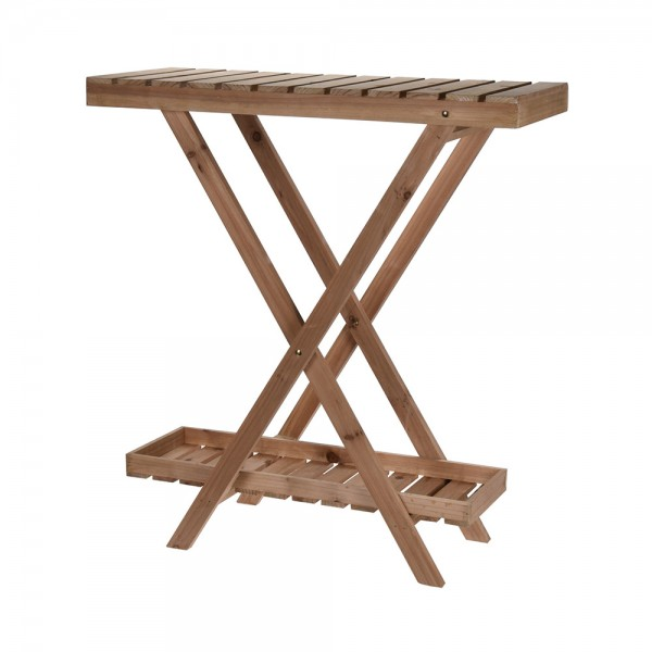 FLOWERRACK WOOD 2 LEVELS 540592-V001 by EH Excellent Houseware