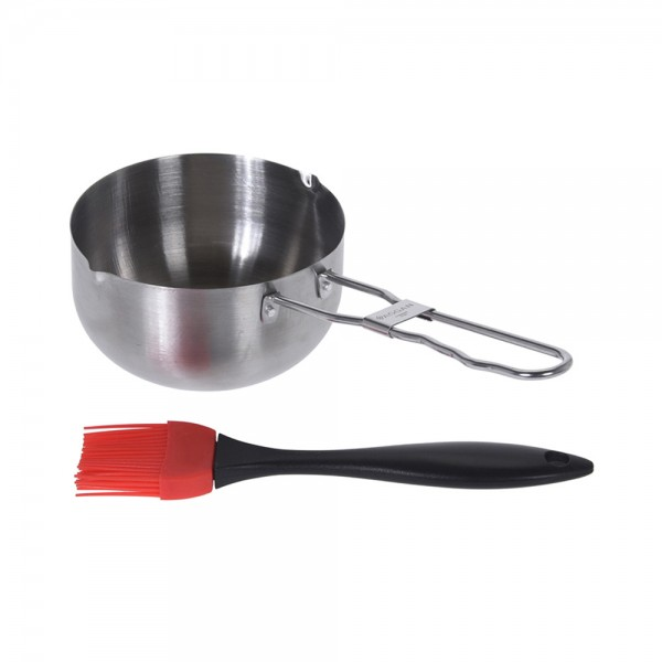 BBQ SAUCE PAN WITH BRUSH 540617-V001 by Vaggan