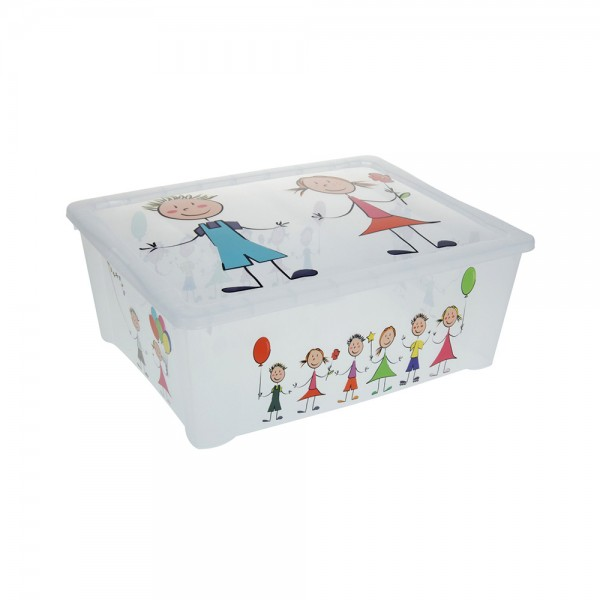 BOX WITH PRINT 42X35X15CM 540620-V001 by EH Excellent Houseware