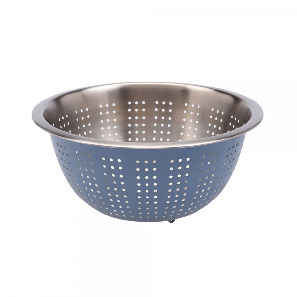 COLANDER STAINLESS STEEL MIXED COLOR 540715-V001 by EH Excellent Houseware