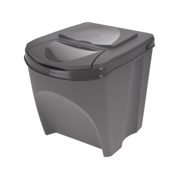 WASTE BIN EASY RECYCLING SET 25L 540745-V001 by EH Excellent Houseware