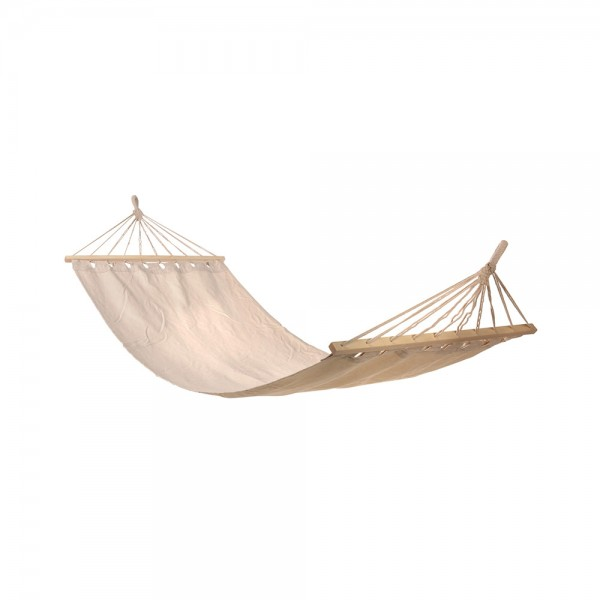 HAMMOCK ECRU WITH BARS 200x80CM 540757-V001 by EH Excellent Houseware