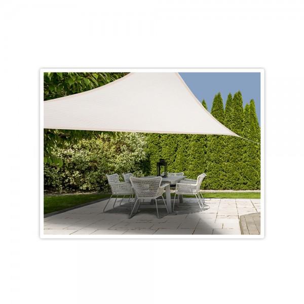 SHADE CLOTH TRIANGLE CREAM CLR 3.6x3.6CM 540761-V001 by EH Excellent Houseware
