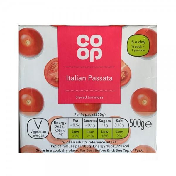 ITALIAN PASSATA SAUCE 540811-V001 by Co op