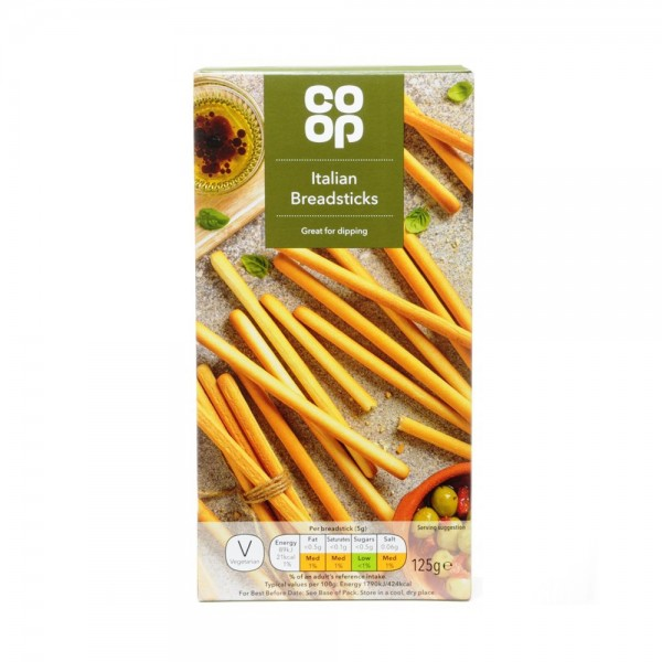 ITALIAN BREADSTICKS MADE WITH OLIVE 540816-V001 by Co op