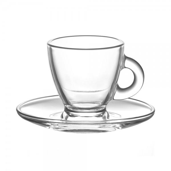 GLASS COFFEE SET 541018-V001 by Adtrend.it
