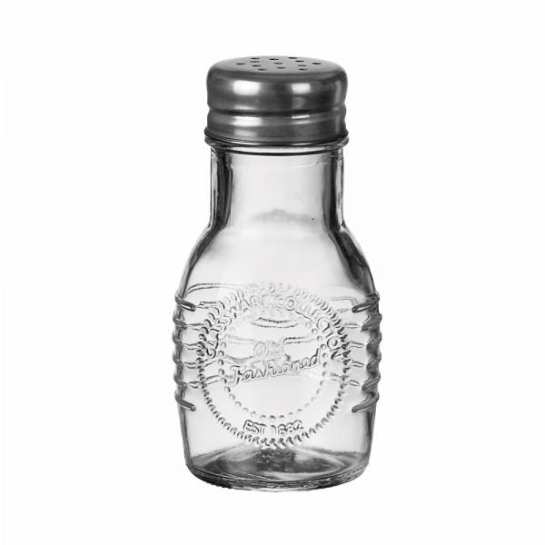 GLASS JAR+METAL LID 6X10.5CM 541041-V001 by Adtrend.it