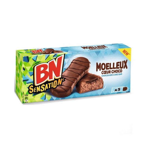 SENSATION MOELLEUX COEUR CHOCO CAKE BAR 541794-V001 by McVitie's
