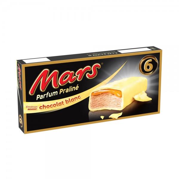 6 BAR PRALINE CHOCOLAT BLANC 541876-V001 by Mars