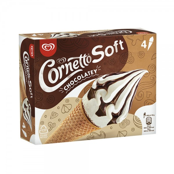 SOFT VANILLA CHOCOLAT CONE 541910-V001 by Magnum