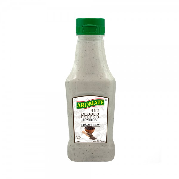 Aromate Mayonnaise Black Pepper Squeeze 542479-V001 by Aromate