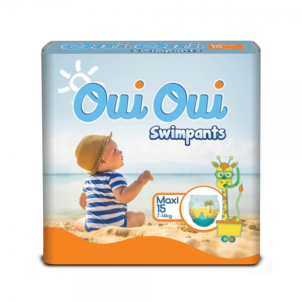 BABY DIAPERS SWIMPANTS 7-14KG 542710-V001 by Oui Oui