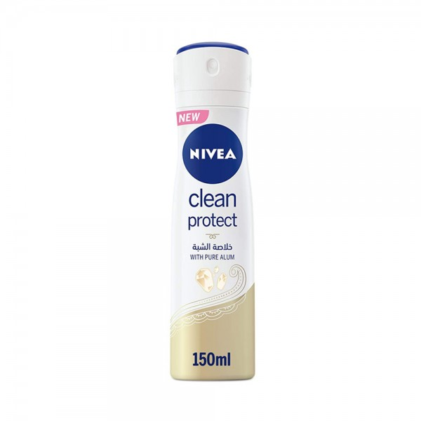 WOMEN DEO CLEAN PROTECT ANTI-PERSPIRANT +PURE ALUM 543196-V001 by Nivea