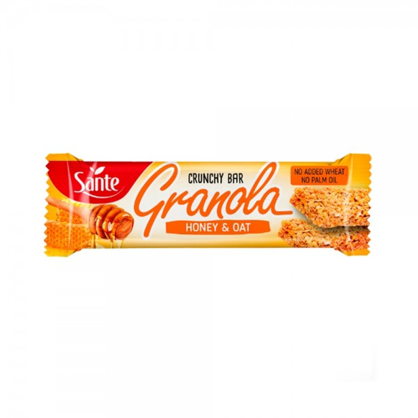GRANOLA CEREAL BAR OATS AND HONEY 543209-V001 by Sante
