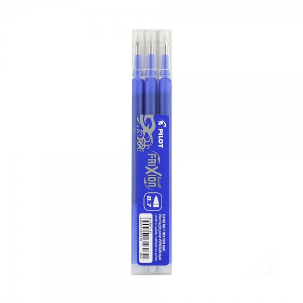 SET OF 3 REFILL FOR .FRIXION. 0.7.BLUE 543369-V001 by PILOT