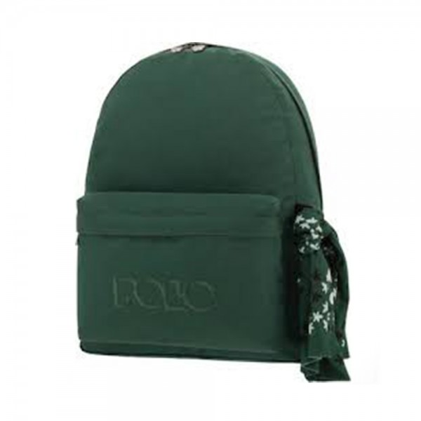 SCHOOL BAG WITH SCARF GREEN 543447-V001 by Polo