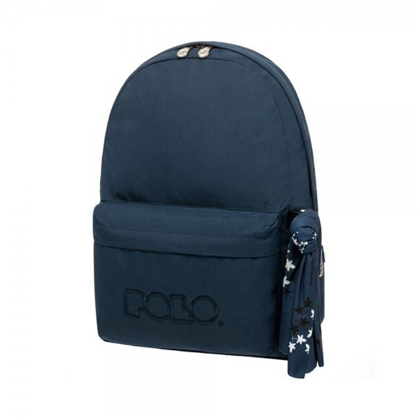 SCHOOL BAG WITH SCARF DARK BLUE 543448-V001 by Polo