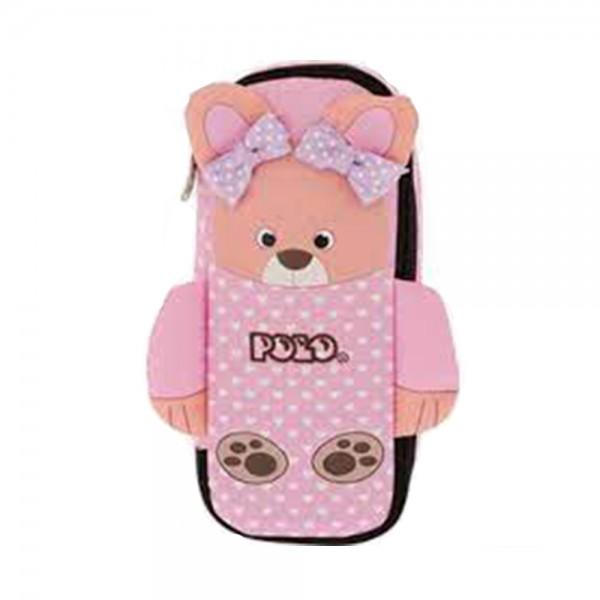 ANIMAL PENCIL CASE BEAR 543495-V001 by Polo