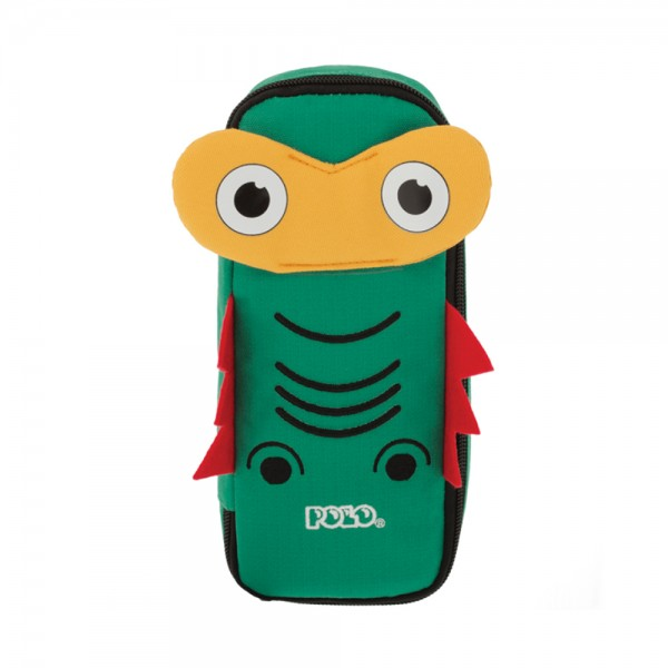 ANIMAL PENCIL CASE FROG 543496-V001 by Polo