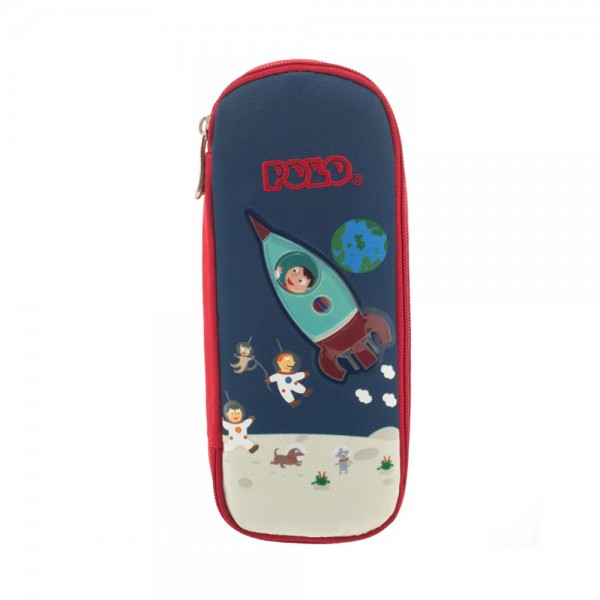 ANIMAL PENCIL CASE MISSILE BOY 543499-V001 by Polo