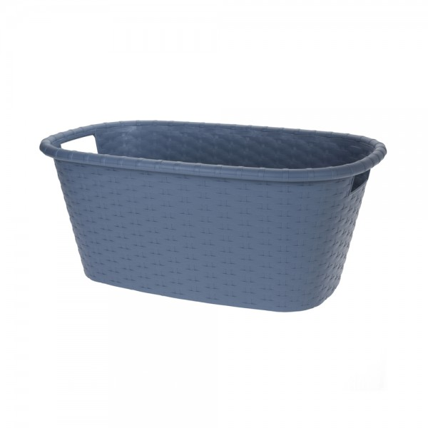 LAUNDRY BASKET 35LTR MIXED CLR 543806-V001 by EH Excellent Houseware