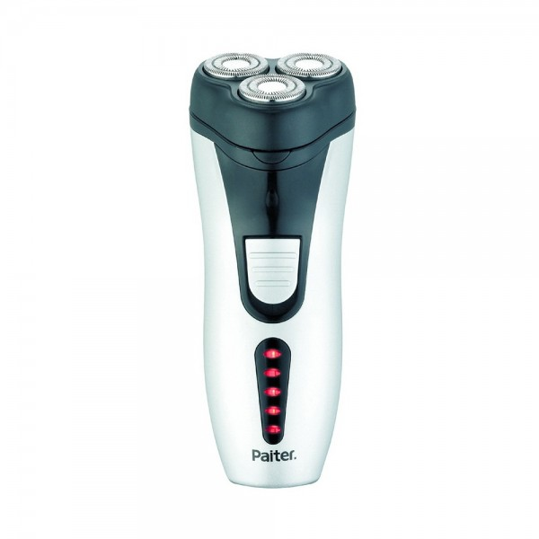 HAIR SHAVER RECHARGEABLE 3 ROTATING BLADES B.I TRI 543918-V001 by PAITER
