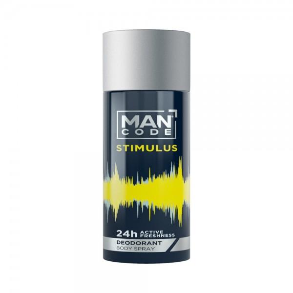 ManCode Deodorant Body Spray Stimulus 543943-V001 by ManCode