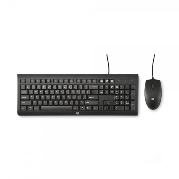 KEYBOARD+MOUSE WIRED 543951-V001 by HP