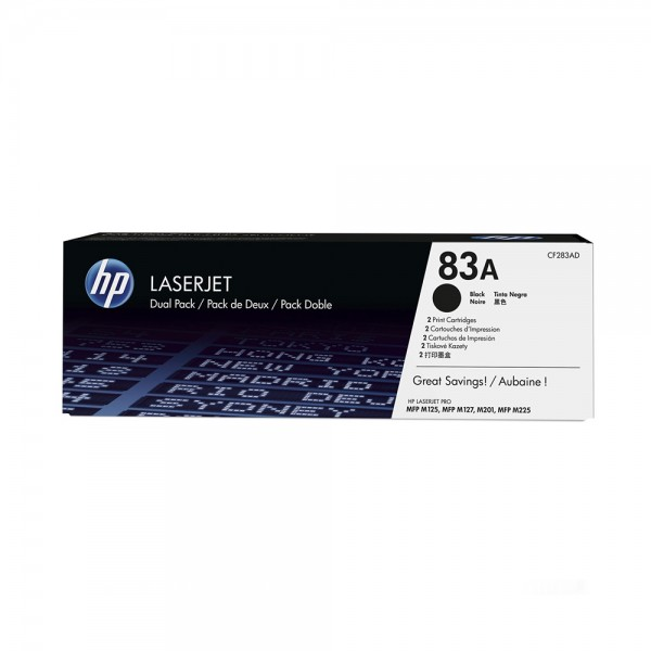 TONER 83A BLACK 543970-V001 by HP