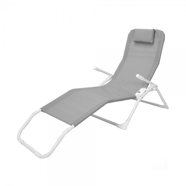 SIESTA LOUNGER GREY 544213-V001 by EH Excellent Houseware
