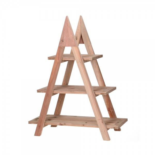 FLOWERRACK WOOD 3 LEVELS 544221-V001 by EH Excellent Houseware