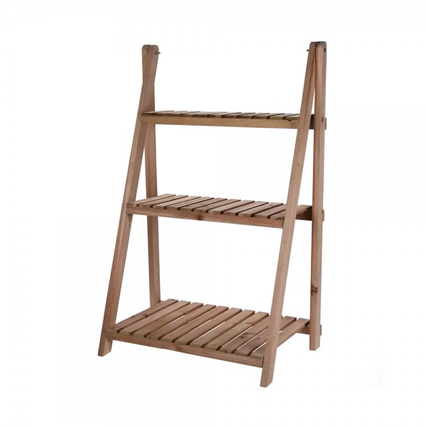 FLOWERRACK WOOD 3 LEVELS 544222-V001 by EH Excellent Houseware