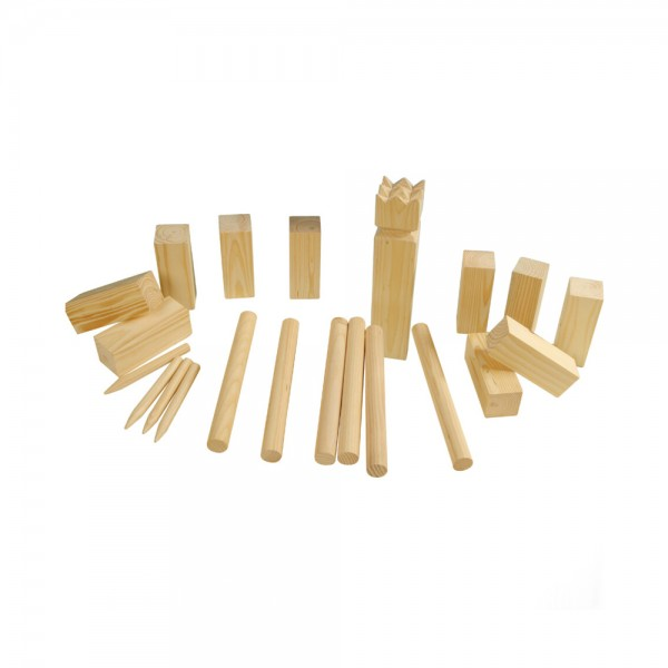 KUBB SET LARGE WOOD 544230-V001 by EH Excellent Houseware