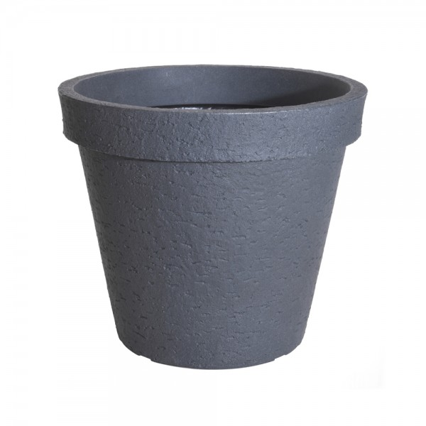 FLOWER POT ROUND LIGHT GRAY 544237-V001 by EH Excellent Houseware
