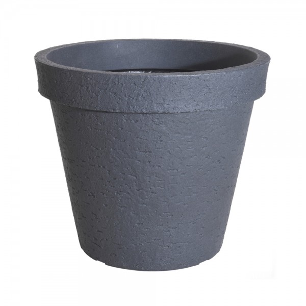 FLOWER POT ROUND LIGHT GRAY 544239-V001 by EH Excellent Houseware